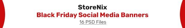 StoreNix - Multipurpose Ecommerce Shop HTML Template - 1